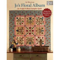 Jo's Floral Album, Un'Artistico Quilt a 9 Blocchi - Martingale