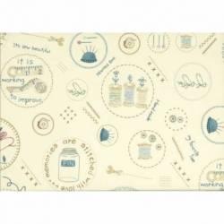 American Country 18th by Masako Wakayama, Tessuto Lecien 31751-11