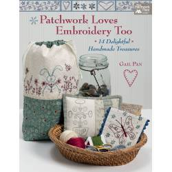 Patchwork Loves Embroidery Too - 14 Deliziosi Tesori Fatti a Mano - 80 pagine