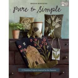 Pure & Simple, 17 Progetti Ispirati alle Stagioni - 96 pagine - Martingale