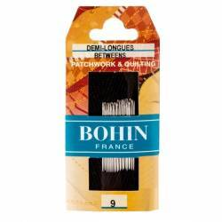 Bohin, Aghi Between Medi A1/2F per Cucito a Mano n9 da Patchwork - 20pz