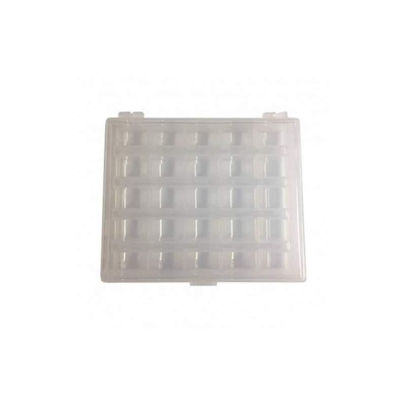 Bohin, Porta Spoline in plastica - 25 vani