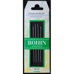 Bohin, Aghi Infila Perle per Beading n10/12 - 4pz