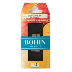Bohin, Aghi Between Medi A1/2F per Cucito a Mano n12 da Patchwork - 20pz
