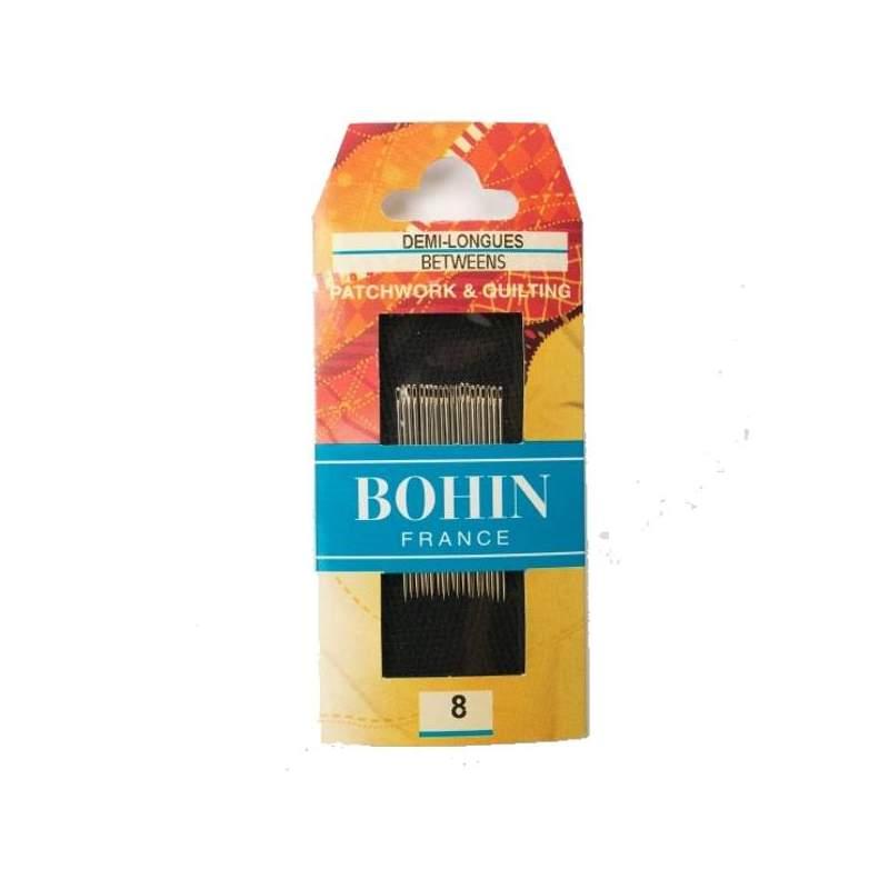 Bohin, Aghi Between Medi A1/2F per Cucito a Mano n8 da Patchwork - 20pz