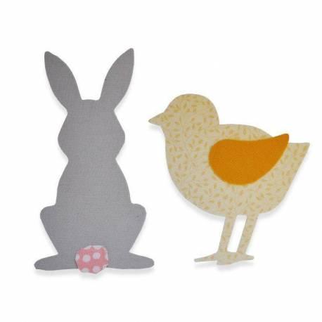 Sizzix, Bigz Die - Spring Animals by Sophie Guilar