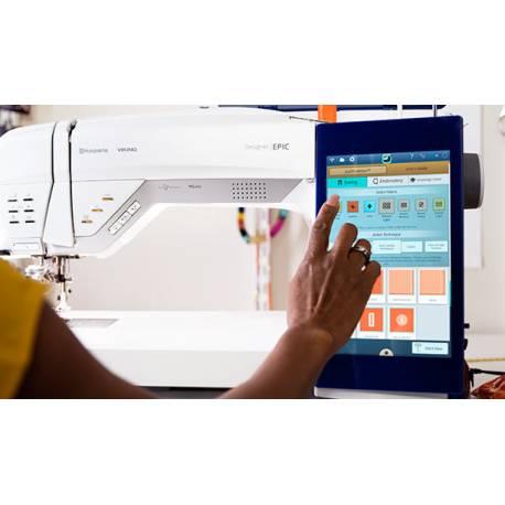 Macchina per Cucire Elettronica e Ricamatrice Husqvarna Viking Designer Epic con Sensor System