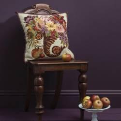 Elizabeth Bradley, Victorian Flowers, AUTUMN CORNUCOPIA - 16x16 pollici