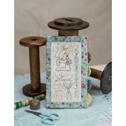 Sewing Mouse Needle-book - Cartamodello Porta Aghi a Libretto di Natalie Bird, The BirdHouse