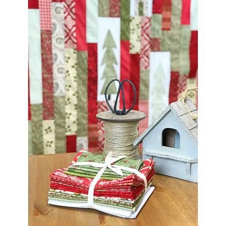Kit per realizzare il Red Winter Quilt - dal libro Some Kind of Wonderfull