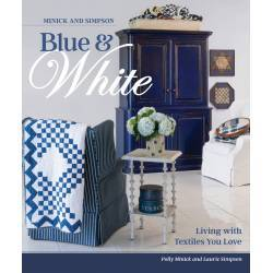 Laundry Basket Quilts, Minick And Simpson Blue And White