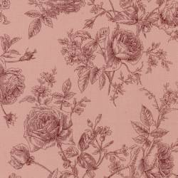 Antique Rose 2018, Tessuto Lecien 31769-20