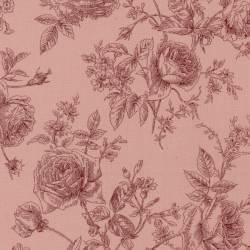Antique Rose 2018, Tessuto Lecien 31769-20