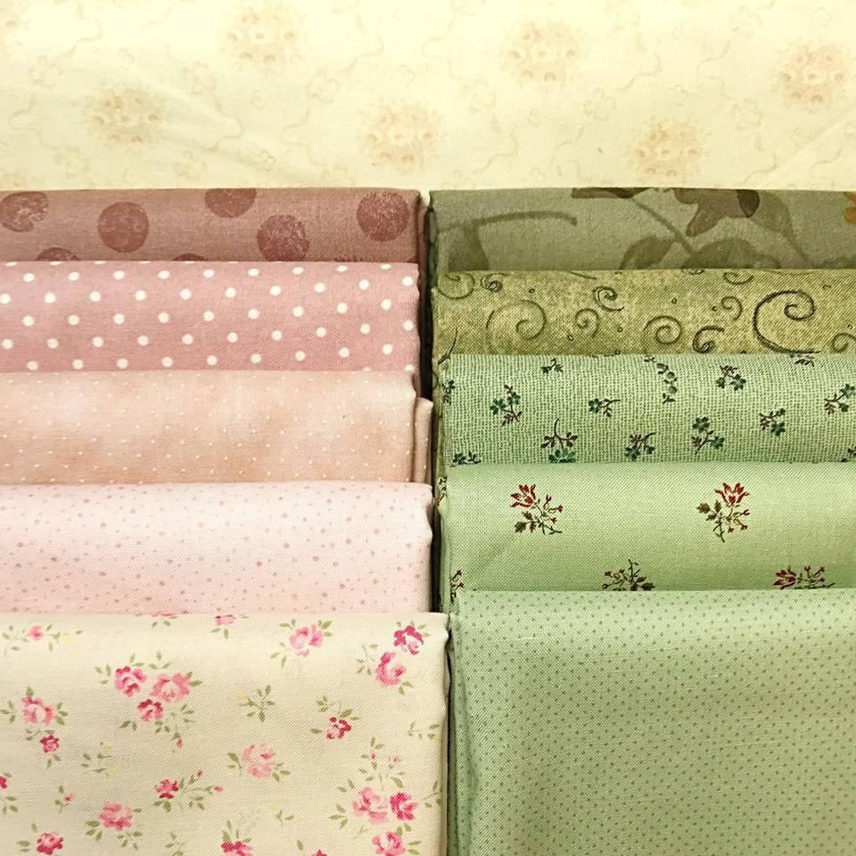 Timbri Personalizzati Per Stoffa kit di tessuti per corso di patchwork base online - roberta