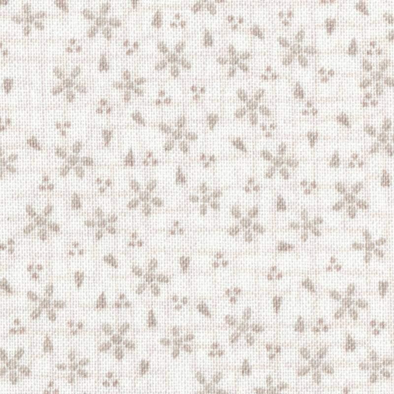 Tessuto Lecien, Sweet Garden of Mine, Lazy Daisy Ivory by Lynette Anderson Lecien Corporation - 1