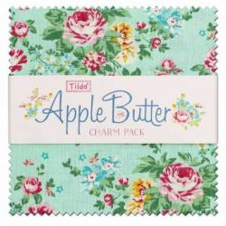 Tilda AppleButter, Bundle 40 Charm Pack 12.5 x 12.5 cm - Collezione Applebutter