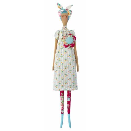 Tilda AppleButter, Kit di Cucito Bambola - Kitschy Friends, altezza circa 57 cm