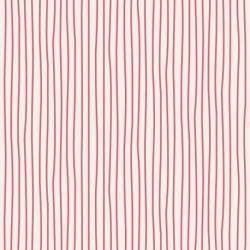 Tilda 110 Classic Basics Pen Stripe Pink - Tessuto Rosa a Righine