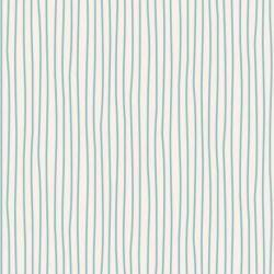 Tilda 110 Classic Basics Pen Stripe Light Blue - Tessuto Azzurro a Righine