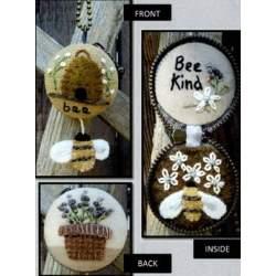 Hidden Treasures, Bee Kind - Cartamodello Condoli Api e Fiori, Kathi Campbell