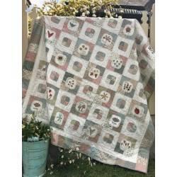 Market Garden Quilt - Cartamodello Quilt il Giardino, Anni Downs