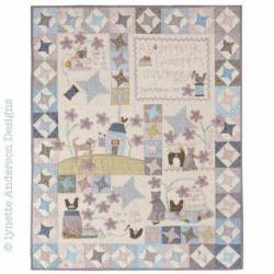 Stitched By Me - Cartamodello Quilt - Set di 7, Lynette Anderson