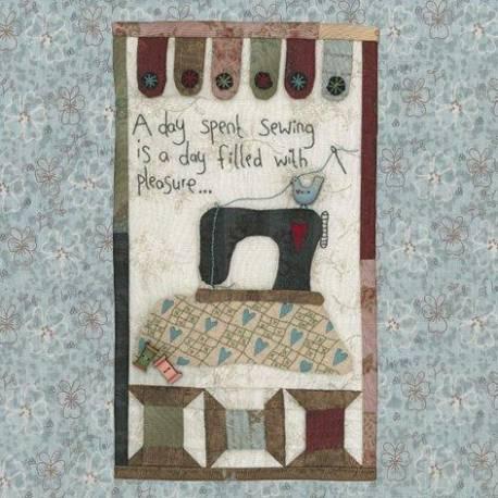 A Day Spent Sewing - Cartamodello Arazzo, Lynette Anderson