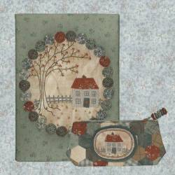 Badger Cottage Journal Cottage & Pencil Case - Cartamodello Astuccio e Porta Riviste, Lynette Anderson