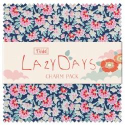 Tilda LazyDays, Bundle 40 Charm Pack 12.5 x 12.5 cm - Collezione LazyDays