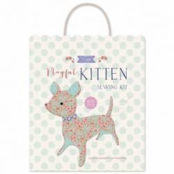 Tilda LazyDays, Kit di Cucito Gattino - Playful Kitten, circa 24 cm