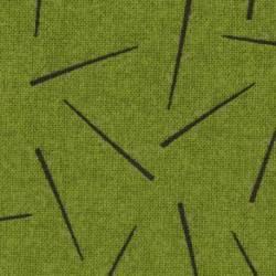 Lecien Centenary Collection 24rd by Yoko Saito, Tessuto Verde con Bastoncini
