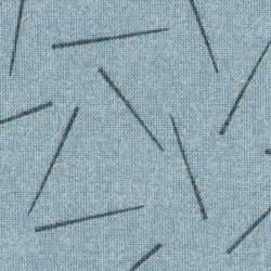 Lecien Centenary Collection 24rd by Yoko Saito, Tessuto Azzurro con Bastoncini