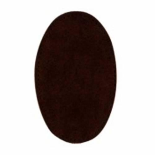 Toppe Scamosciate da Cucire, 16 x 11 cm Testa di Moro