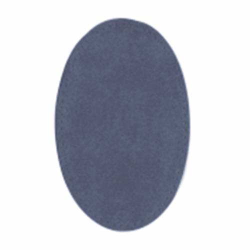 Toppe Scamosciate da Cucire, 16 x 11 cm Blu Jeans