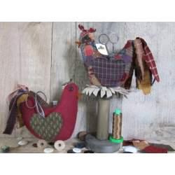 Initials Pincushion - Cartamodello Punta Spilli, Lynette Anderson