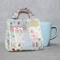 Love a Cuppa - Cartamodello Borsetta per Mug, The BirdHouse by Natalie Bird