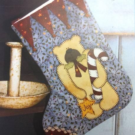 Teddy Stocking - Cartamodello Calza di Natale, The BirdHouse by Natalie Bird