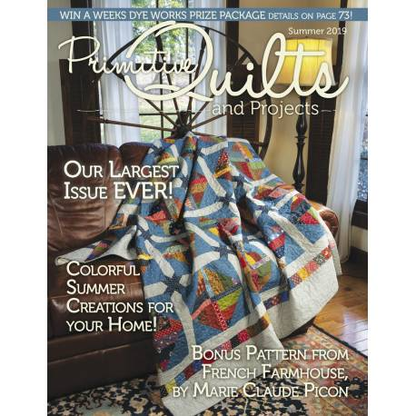Primitive Quilts & Projects Winter 2017 - 99 pagine