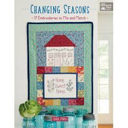 Changing Seasons - 17 Embroideries to Mix and Match by Gail Pan - Martingale