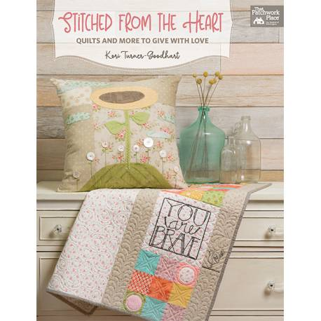 Stitched from the Heart - di Kori Turner-Goodhart - Martingala