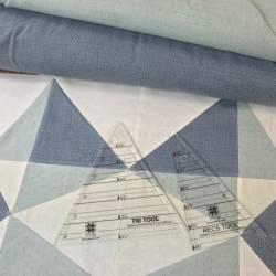 Cartamodello Centro Tavola 36 x 36 pollici con squadre Tri-Recs - PDF