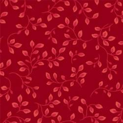 "Red 108 "" Wide Backing Dark Ground"