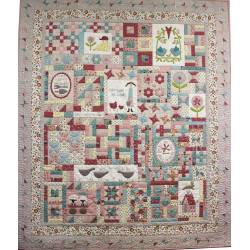 Willowbrook Market Garden BOM - Cartamodello Quilt di Natalie Bird, The BirdHouse