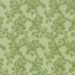 Lecien - LOYAL HEIGTHS by JERA BRANDVIG Fondo Menta tema rami e frutti colore verde