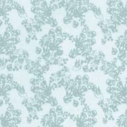 Lecien - LOYAL HEIGTHS by JERA BRANDVIG Fondo azzurro tema rami e frutti colore carta da zucchero