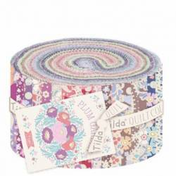 Tilda PlumGarden, Bundle 40 Jelly Roll 5 x 110 cm - Collezione PlumGarden