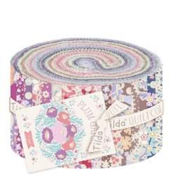 Tilda PlumGarden, Bundle 40 Jelly Roll 6 x 110 cm - Collezione PlumGarden