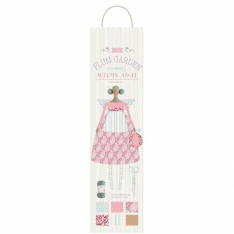 Tilda PlumGarden, Kit di Cucito Bambola - AUTUMN ANGEL SEWING KIT - (Altezza circa 60 cm)