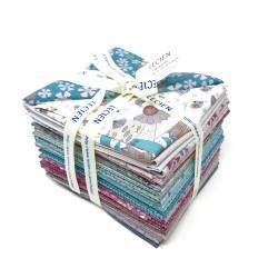 Lecien - Dancing in the Blossom by Lynette Anderson- FAT QUARTER/ BUNDLE - 30 PZ