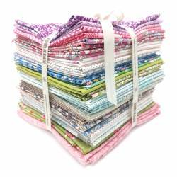 Mystery Quilt, Kit con Tessuti Tilda - Profumo di Primavera